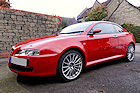 Alfa GT car detailing photos