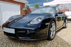 Porsche Cayman car detailing photos