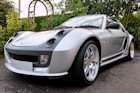 Smart Roadster Brabus car detailing photos