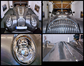 Morgan Aero 8 Showroom detail Gallery - Click to view