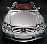Mercedes SL55 AMG Car Detail