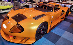 Marcos LM600 at NEC Classic Car Show - Show prep by Just Detailing Services